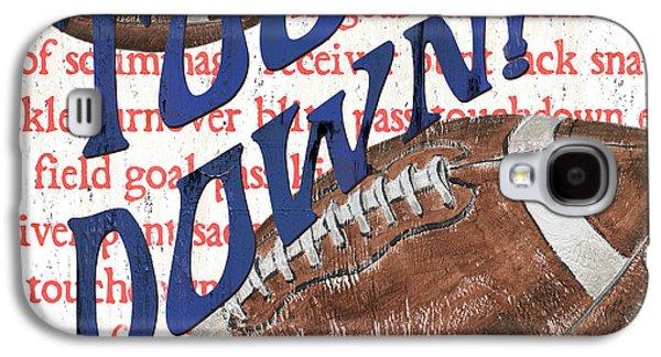 Sports Fan Football Galaxy S4 Case by Debbie DeWitt
