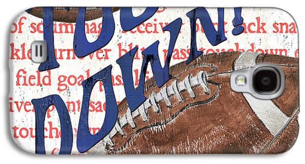 Sports Fan Football Galaxy S4 Case by Debbie DeWitt
