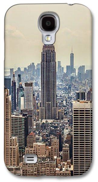 Empire State Building Galaxy S4 Case - Sprawling Urban Jungle by Az Jackson