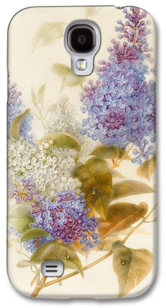 Spray Of Lilac Galaxy S4 Case by Pauline Gerardin