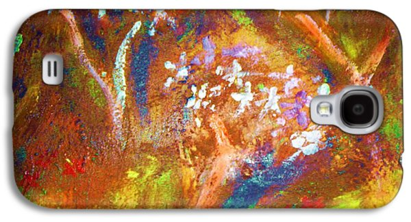Galaxy S4 Case featuring the painting Spring Blossom by Winsome Gunning