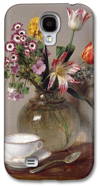 Spring Bouquet Galaxy S4 Case by Ignace Henri Jean Fantin-Latour
