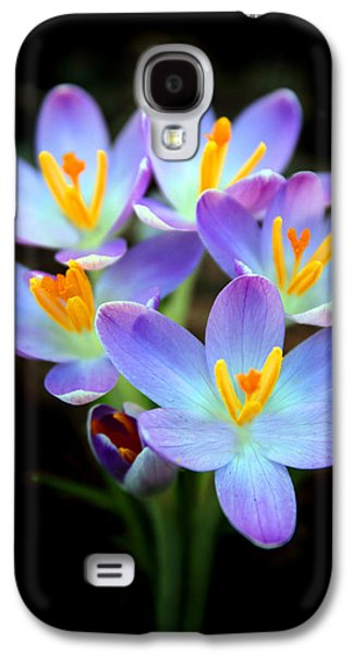 Galaxy S4 Case featuring the photograph Spring Crocus by Jessica Jenney