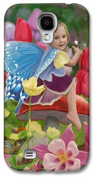 Fairy Galaxy S4 Case - Spring Fairy by Lucie Bilodeau