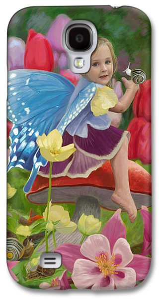 Spring Fairy Galaxy S4 Case by Lucie Bilodeau