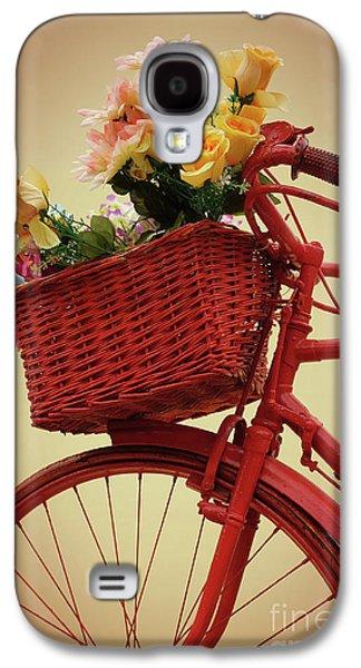 Spring Flower Bike Galaxy S4 Case by Carlos Caetano