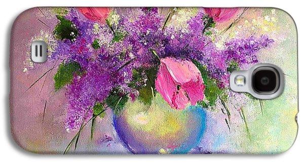 Spring Is Beautiful Galaxy S4 Case by Viktoriya Sirris