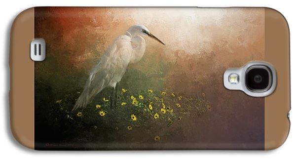 Egret Galaxy S4 Case - Spring Is Here by Marvin Spates