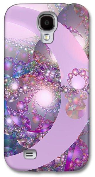 Spring Moon Bubble Fractal Galaxy S4 Case