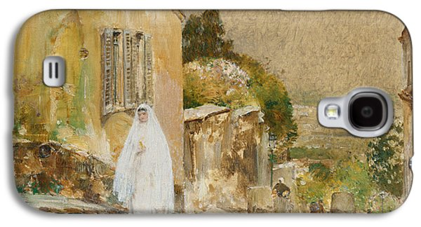 Spring Morning At Montmartre Galaxy S4 Case by Childe Hassam