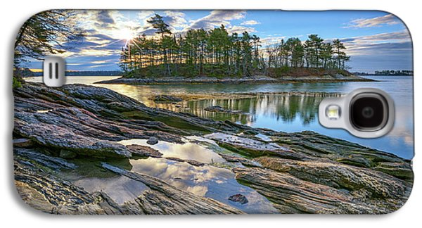 Spring Morning At Wolfe's Neck Woods Galaxy S4 Case by Rick Berk