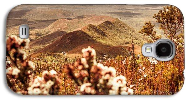 Spring Mountain Blossoms Galaxy S4 Case