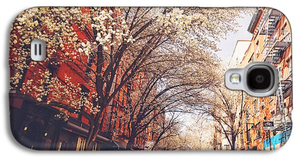 Spring - New York City - Lower East Side Galaxy S4 Case by Vivienne Gucwa