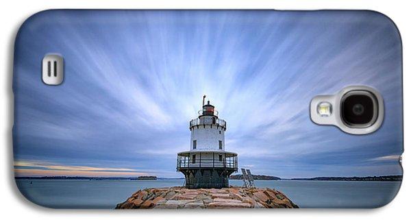 Spring Point Ledge Light Station Galaxy S4 Case by Rick Berk