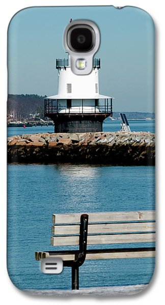 Spring Point Ledge Lighthouse Galaxy S4 Case by Greg Fortier