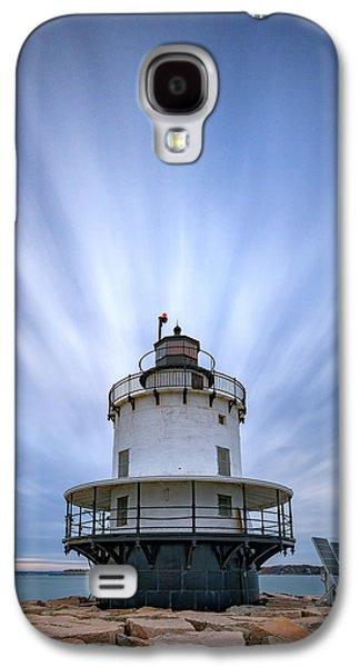 Spring Point Ledge Lighthouse Galaxy S4 Case by Rick Berk