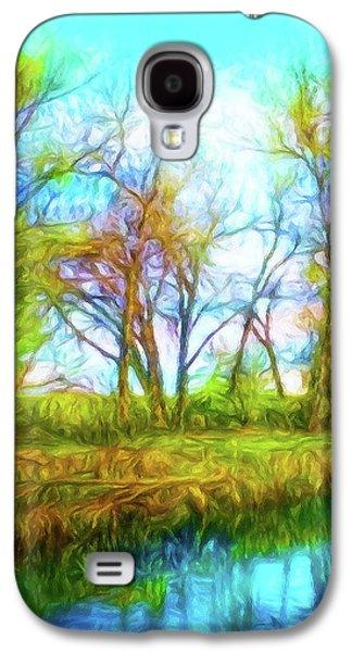 Spring River Rambling Galaxy S4 Case