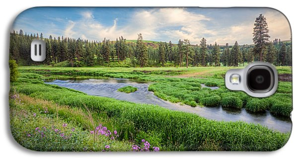 Galaxy S4 Case featuring the photograph Spring River Valley by Rikk Flohr
