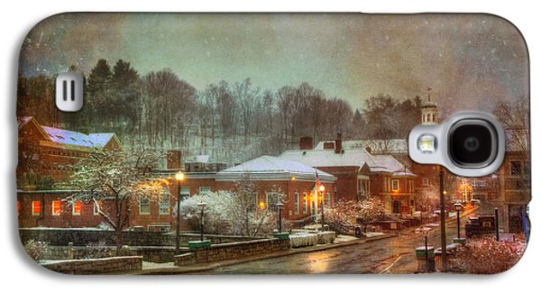 Spring Snow In Peterborough Nh Galaxy S4 Case by Joann Vitali