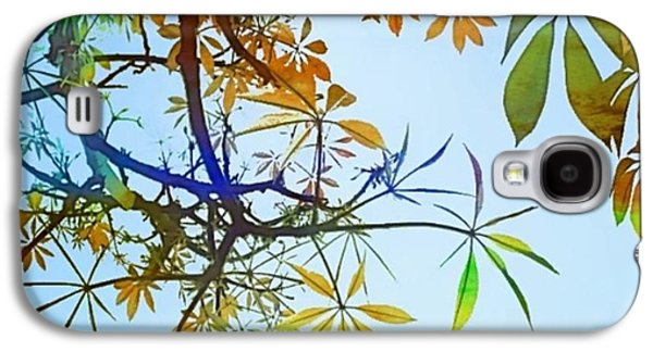 Design Galaxy S4 Case - #spring #tree #leaves With #watercolor by Shari Warren