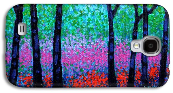 Spring Woodland Galaxy S4 Case by John  Nolan