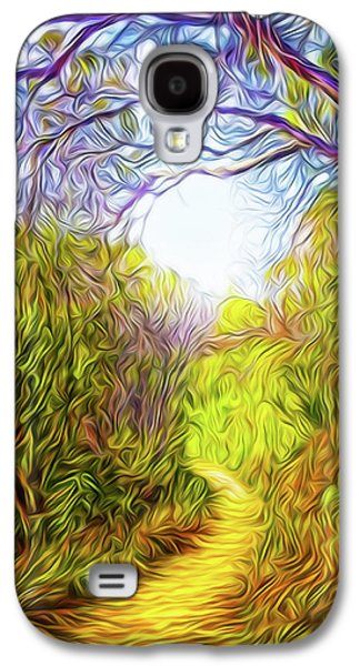 Springtime Pathway Discoveries Galaxy S4 Case by Joel Bruce Wallach