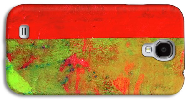 Galaxy S4 Case featuring the mixed media Square Collage No. 11 by Nancy Merkle