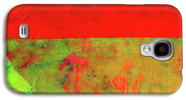 Square Collage No. 11 Galaxy S4 Case by Nancy Merkle