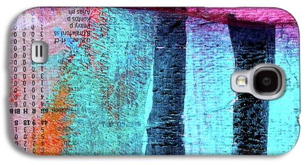 Square Collage No 4 Galaxy S4 Case by Nancy Merkle