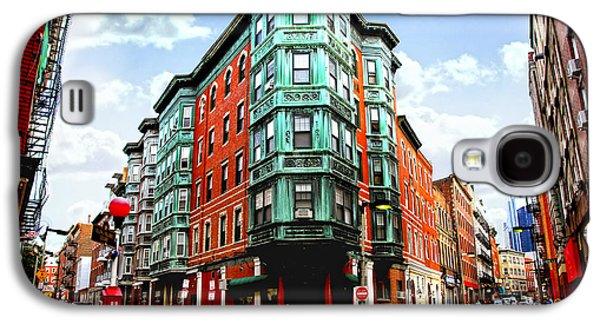 Square In Old Boston Galaxy S4 Case