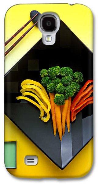 Broccoli Galaxy S4 Case - Square Plate by Garry Gay