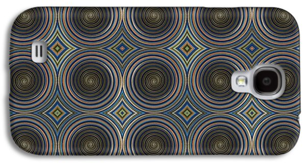 In Squares, Diamonds And Circles Galaxy S4 Case