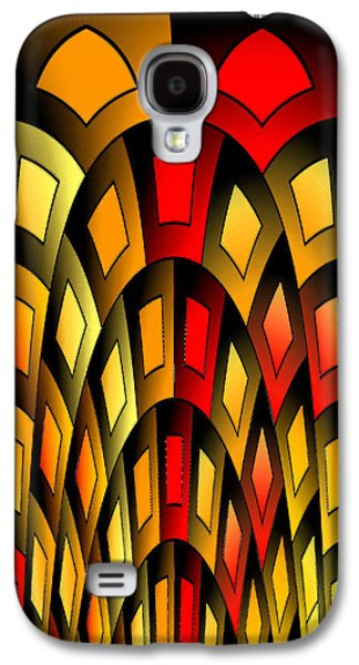Squares Pattern Galaxy S4 Case