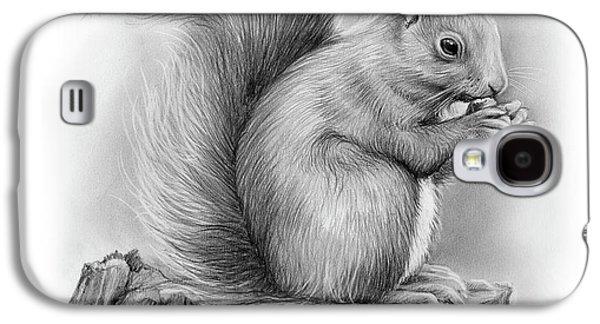 Squirrel Galaxy S4 Case - Squirrel by Greg Joens