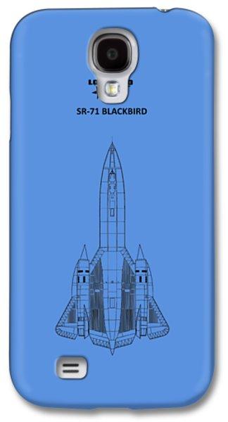 Sr-71 Blackbird Galaxy S4 Case