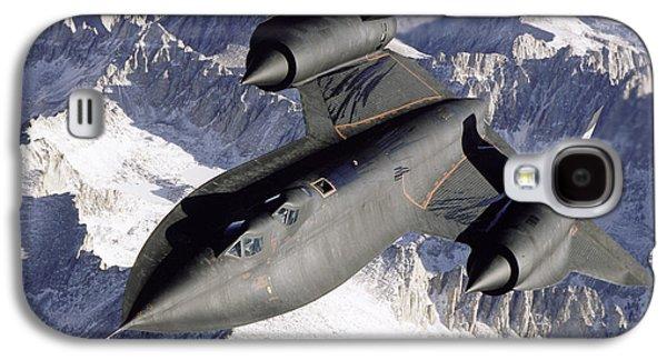 Sr-71b Blackbird In Flight Galaxy S4 Case by Stocktrek Images