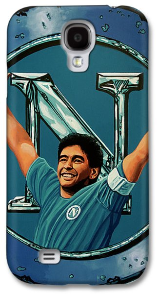Donkey Galaxy S4 Case - Ssc Napoli Painting by Paul Meijering