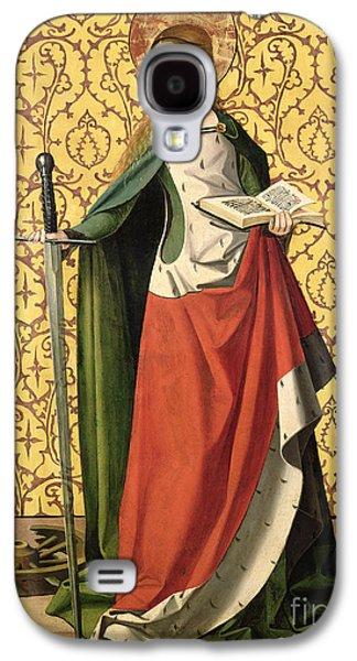 St. Catherine Of Alexandria Galaxy S4 Case