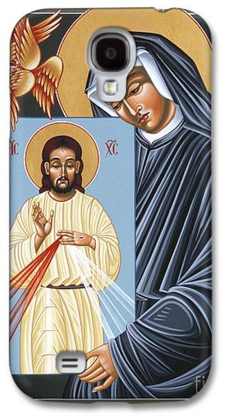 St Faustina Kowalska Apostle Of Divine Mercy 094 Galaxy S4 Case