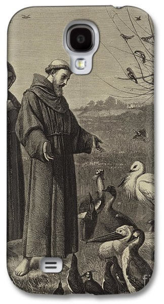 St Francis Preaches To The Birds  Galaxy S4 Case
