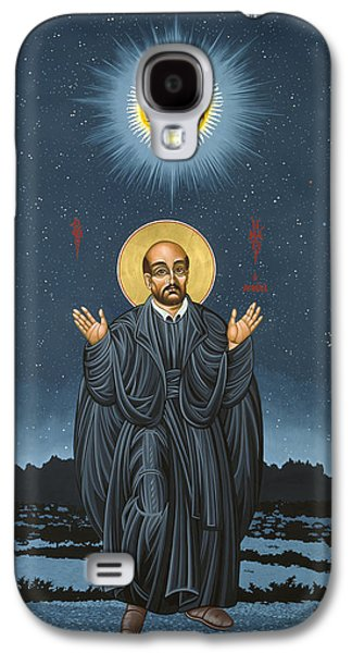 St. Ignatius In Prayer Beneath The Stars 137 Galaxy S4 Case