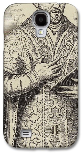 St Ignatius Loyola, Founder Of The Society Of Jesus Galaxy S4 Case