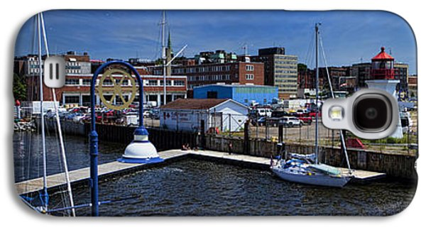 St. John New Brunswick Harbour With Cruise Ship Galaxy S4 Case