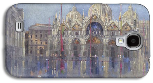 St Mark's -venice Galaxy S4 Case by Peter Miller