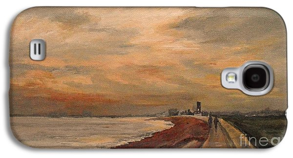 St Mary's Bay Kent Uk Galaxy S4 Case by Beatrice Cloake