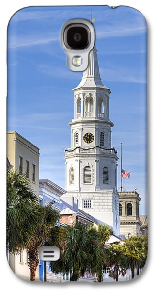 Michael Photographs Galaxy S4 Cases - St Michaels Church Charleston SC 3 Galaxy S4 Case by Dustin K Ryan