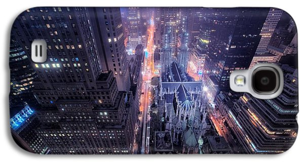 Design Galaxy S4 Case - St. Patrick's Cathedral by Mariel Mcmeeking