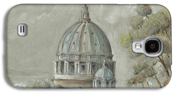St Peter's Basilica Rome Galaxy S4 Case by Juan Bosco