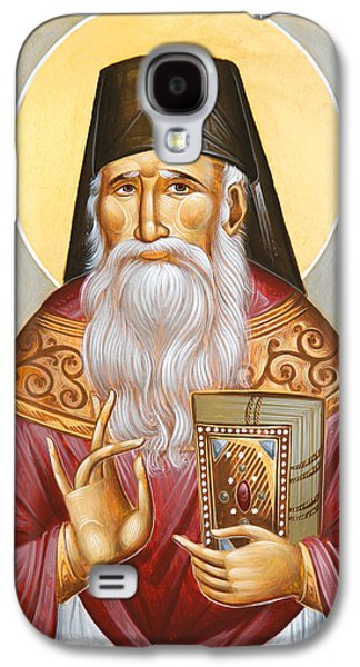 St Porphyrios Of Kavsokalyvia Galaxy S4 Case by Julia Bridget Hayes