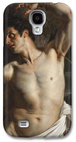 Religious Galaxy S4 Cases - St. Sebastian Galaxy S4 Case by Hippolyte Paul Delaroche